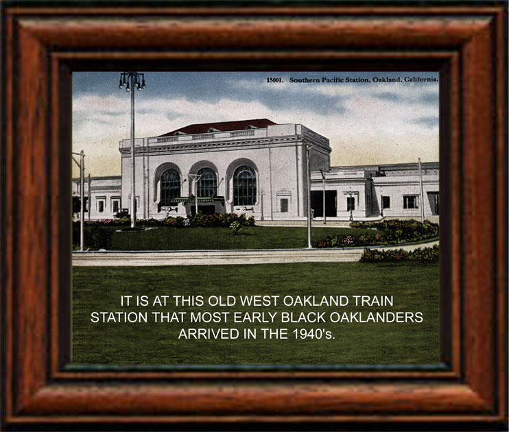 West Oakland Historic Train Station